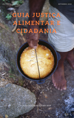 Guia Justiça Alimentar e Cidadania 2016